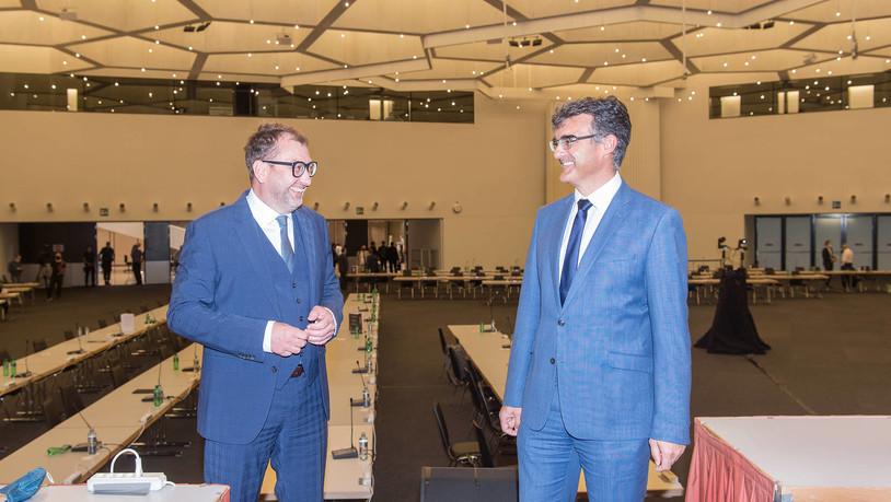 Marcus Caduff ist neuer Regierungsratspräsident 2022