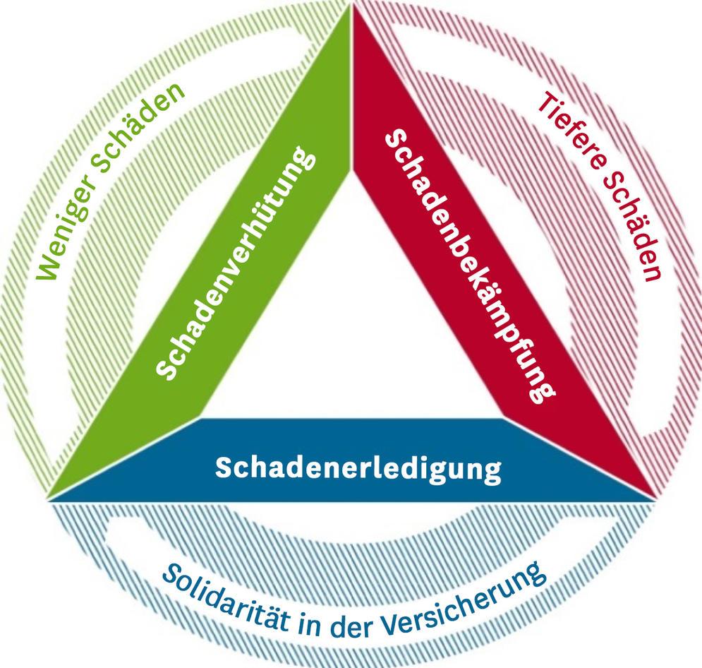 Die drei Bereiche im Umgang mit Naturschäden