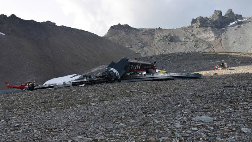 SWITZERLAND FLIMS PLANE CRASH