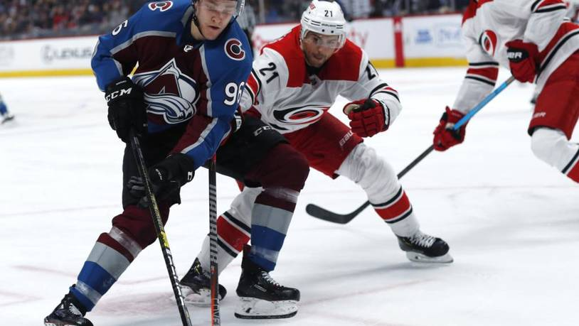 Hurricanes Avalanche Hockey
