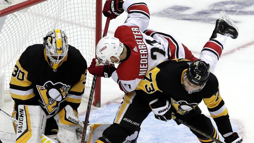 Hurricanes Penguins Hockey