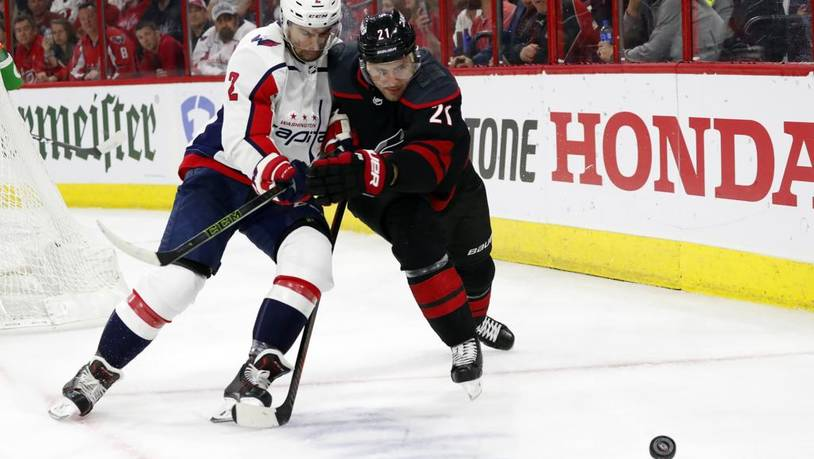 Capitals Hurricanes Hockey