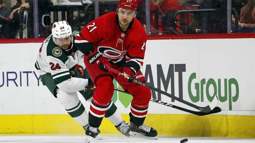 Wild Hurricanes Hockey
