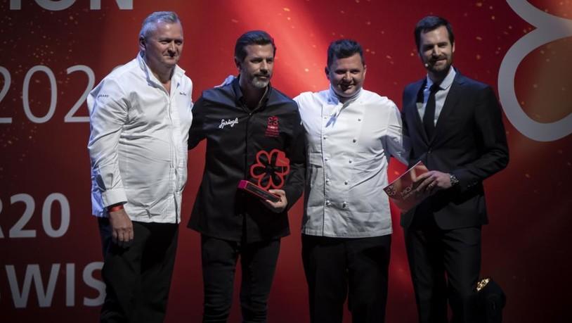 Vier neue Sterne und ein Award für Andreas Caminada