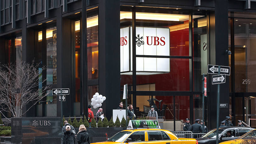 Die UBS-Filiale an der Park Avenue in New York. (Archivbild)