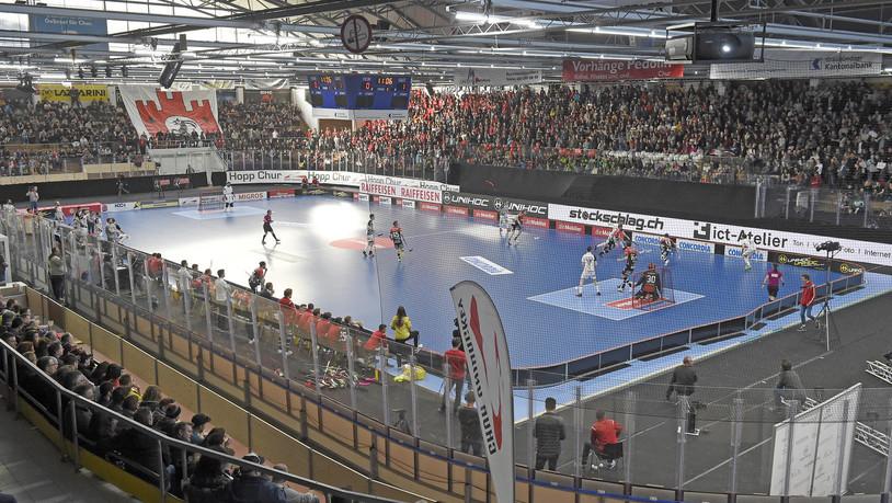 Unihockey vor Rekordkulisse - die Bilder