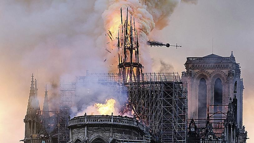 Brand von Notre-Dame komplett gelöscht - Spender für Wiederaufbau