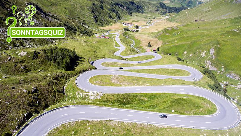 Wie gut kennt ihr die Pässe der Südostschweiz?
