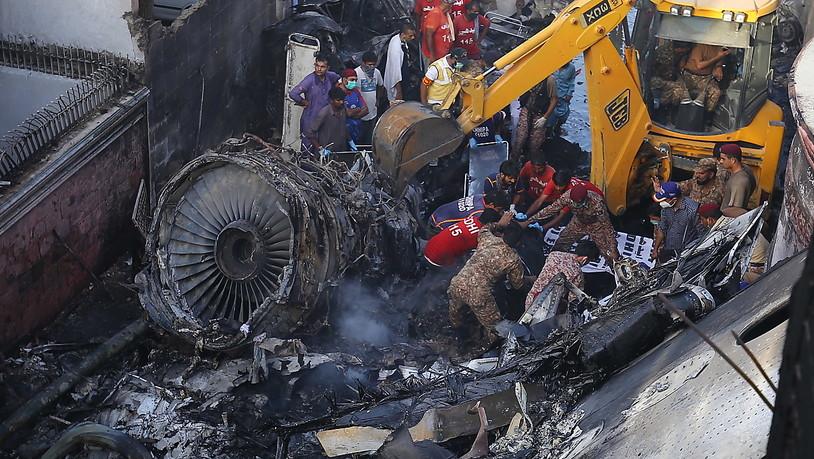Flugzeugabsturz Pakistan