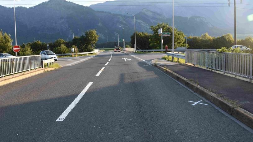 Autofahrerin kollidiert in Bad Ragaz mit Töfffahrer