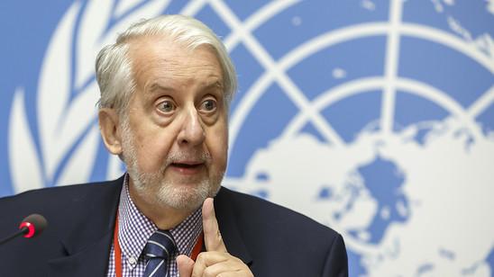 Der Vorsitzende der unabhängigen Uno-Untersuchungskommission zu Syrien, Paulo Pinheiro, kritisiert die schleppende Rückführung von Frauen und Kindern ehemaliger IS-Kämpfern.