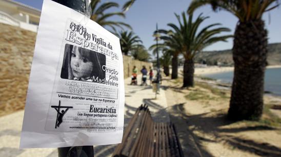 Die im Jahr 2007 dreijährige Maddie war aus einer Appartementanlage in Portugal verschwunden.