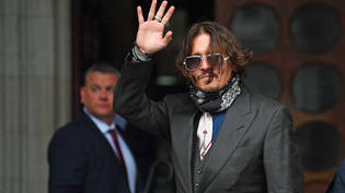 US-Schauspieler Johnny Depp trifft am High Court in London ein. Foto: Victoria Jones/PA Wire/dpa