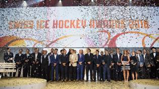 SWISS ICE HOCKEY AWARDS 2018