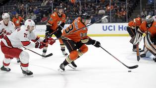 Hurricanes Ducks Hockey