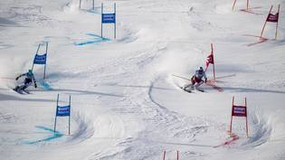 SWITZERLAND SKI ALPIN WORLD CUP