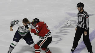 Seattle, im Bild ein Faustkampf mit Beteiligung des lokalen Junioren-Teams Seattle Thunderbirds, sollte es bald NHL-Eishockey geben