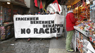 Demonstration gegen Rassismus in Bern. (Archivbild)