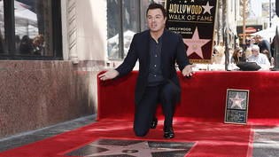 "Enthüllte seinen Stern auf dem ""Walk of Fame"" in Hollywood: US-Komiker Seth MacFarlane."