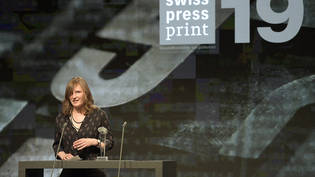 Camille Krafft, Gewinnerin des Swiss Press Awards in der Kategorie Print.