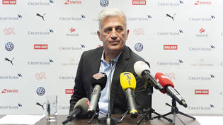 Nationaltrainer Vladimir Petkovic zog am Montag nach der Rückkehr vom Finalturnier der Nations League in Porto Bilanz